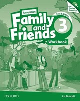 American Family and Friends 3. Workbook with Online Practice | Naomi Simmons |