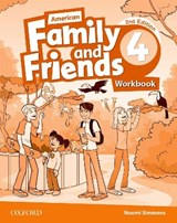 American Family and Friends 4. Workbook | Naomi Simmons |