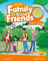 American Family and Friends 4. Student Book | Naomi Simmons |