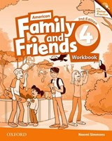 American Family and Friends 4. Workbook with Online Practice | Naomi Simmons |