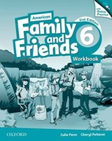 American Family and Friends 6. Workbook with Online Practice | Naomi Simmons |