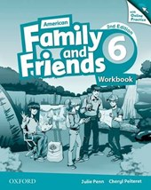 American Family and Friends 6. Workbook with Online Practice