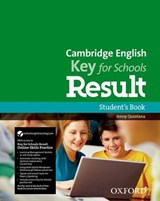 Cambridge English: Key for Schools Result Student's Book and Online Skills Practice | auteur onbekend |
