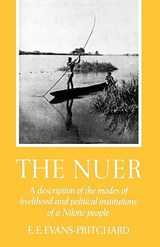 The Nuer | Edward Evan Evans-Pritchard |