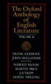 The Oxford Anthology of English Literature