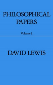 Philosophical Papers: Volume I | David Lewis |