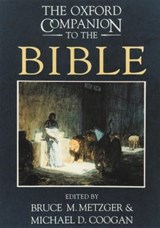 The Oxford Companion to the Bible | auteur onbekend |
