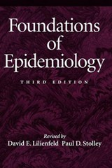 Foundations of Epidemiology | David E. Lilienfield |