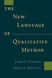 New Language of Qualitative Method