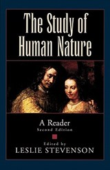 The Study of Human Nature | auteur onbekend |