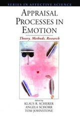 Appraisal Processes in Emotion | Scherer, Klaus, R. |