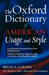 The Oxford Dictionary of American Usage and Style | Bryan A. Garner |