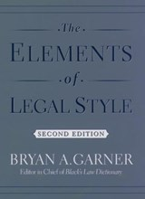 The Elements of Legal Style | Bryan A. Garner |