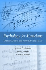 Psychology for Musicians | Andreas C. Lehmann |