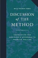 Discussion of the Method | B. V. Koen |