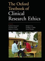 The Oxford Textbook of Clinical Research Ethics | Emanuel, Ezekiel J., Ph.D. |