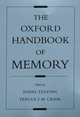 The Oxford Handbook Of Memory | Endel Tulving |