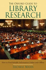 The Oxford Guide to Library Research | Thomas Mann |