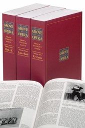 The New Grove Dictionary of Opera