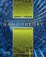 Introduction to Game Theory | Martin Osborne |