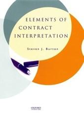 Elements of Contract Interpretation