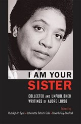 I Am Your Sister | Cole, Johnetta Betsch ; Guy-Sheftall, Beverly |
