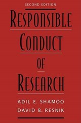 Reaponsible Conduct of Research | Adil E. Shamoo |