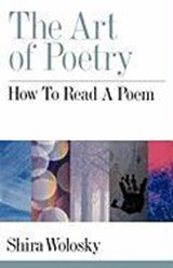 The Art of Poetry | Shira Wolosky |