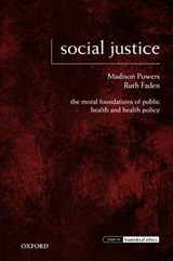 Social Justice | Powers, Madison; Faden, Ruth |