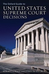 The Oxford Guide to United States Supreme Court Decisions | auteur onbekend |