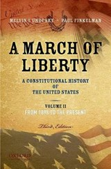 A March of Liberty | Urofsky, Melvin I.; Finkelman, Paul |