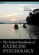 The Oxford Handbook of Exercise Psychology | auteur onbekend |