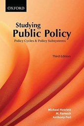 Studying Public Policy | Michael Howlett & M. Ramesh & Anthony Perl |