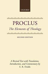 Elements of Theology | E. R. Dodds |