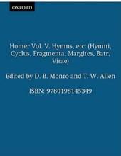 Homer Vol. V. Hymns, etc