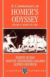 A Commentary on Homer's Odyssey | Joseph Russo |