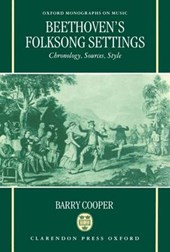 Beethoven's Folksong Settings