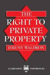 Right to Private Property | Waldron |