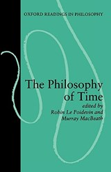 The Philosophy of Time | Robin le Poidevin (ED.) & Murray Macbeath (ED.) |