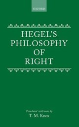 Philosophy of Right | Georg Wilhelm Friedrich Hegel |