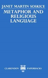 Metaphor and Religious Language | Janet Soskice |