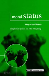 Moral Status | Mary Anne Warren |