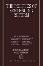 Politics of Sentencing Reform