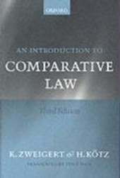 An Introduction to Comparative Law | Konrad Zweigert |