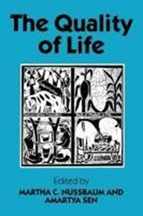 The Quality of Life | Martha C. [Ed.] Nussbaum |