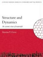 Structure and Dynamics | Martin T. Dove |