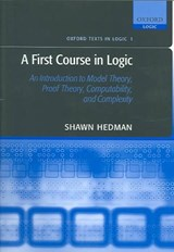 A First Course In Logic | Shawn Hedman |