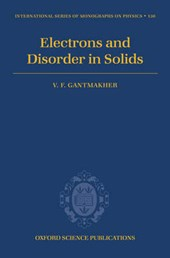 Electrons And Disorder in Solids