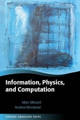 Information, Physics, and Computation | Marc Mezard |