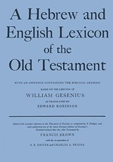 A Hebrew and English Lexicon of the Old Testament | H. F. W. Gesenius |